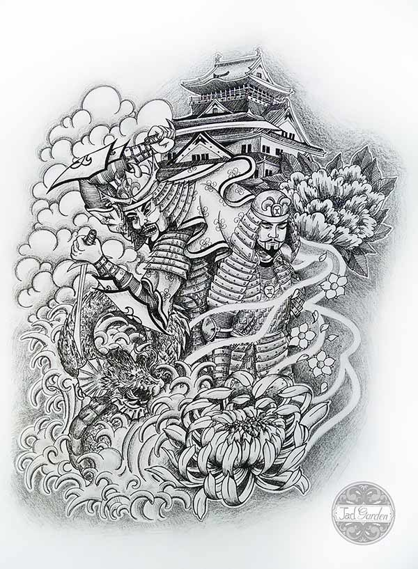 tatouage japon dessin | kolorisse developpement
